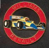Williams Renault, - (PIN0322)